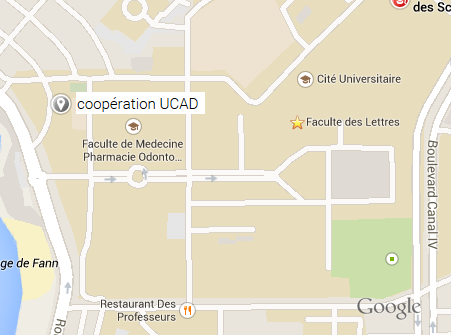 Direction cooperation UCAD